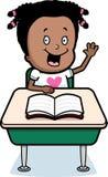 Girl Classroom Stock Image
