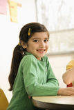 Girl in Classroom Royalty Free Stock Image