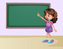 Girl in classroom Stock Photos