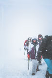 Girl-climber Stock Photo