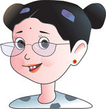 Girl  clip art Royalty Free Stock Images