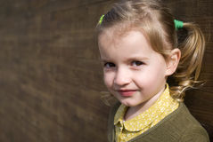 Girl, close up Royalty Free Stock Photo