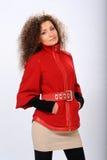Girl in coat Royalty Free Stock Image
