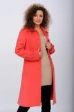 Girl in coat Stock Image