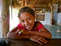 Girl of Colombia Stock Photography