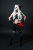 Girl in cosplay suit Royalty Free Stock Photography