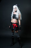 Girl in cosplay suit Royalty Free Stock Photo