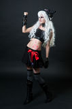 Girl in cosplay suit Royalty Free Stock Photos