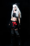 Girl in cosplay suit Royalty Free Stock Image