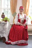 Girl in costume Royalty Free Stock Photography