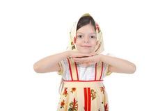 Girl in costume Stock Image