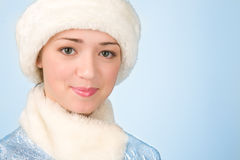 Girl in costume Stock Photography