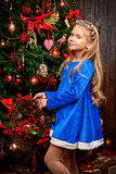 Girl in costume Royalty Free Stock Image