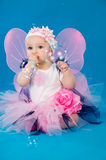 Girl in costume fairies Royalty Free Stock Images