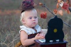 Girl in costume Stock Photos