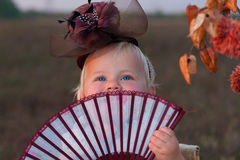 Girl in costume Stock Photo