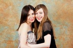 Girl couple Stock Photos