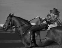 Girl cowboy Royalty Free Stock Photography