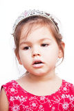 Girl in the crown Royalty Free Stock Photography