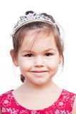 Girl in the crown Stock Image