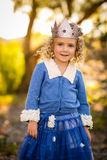 girl child Princess Crown Stock Images