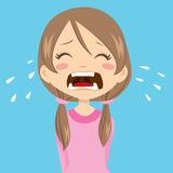 Girl Crying Royalty Free Stock Image