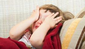 Girl crying Stock Photography