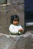 Girl, Cuzco Stock Photo