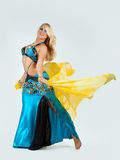 The girl in dance Royalty Free Stock Images