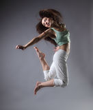 girl dance stock photos