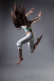 Girl dance Royalty Free Stock Photography