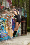 girl dance Stock Images
