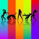 Girl dance Stock Photo