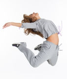 Expressing dance Stock Photography