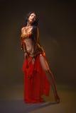 Girl dancer of Arabic dance Stock Photography