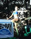 Girl-dancer royalty free stock photo