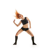 Girl dancer hot Stock Images