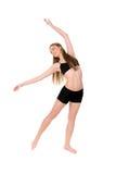 Girl dancer in movement Stock Image