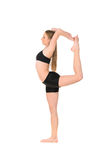 Girl dancer in movement Royalty Free Stock Images