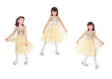 The girl dances Stock Image