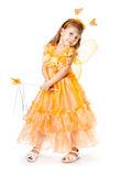 The girl dances Stock Photo