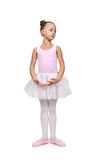Girl dances ballet Stock Photo