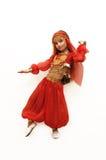 A girl dances east dance Stock Image