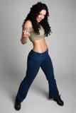 Girl Dancing Stock Photography