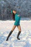 Girl dancing Royalty Free Stock Image