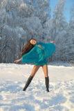 Girl dancing Royalty Free Stock Images