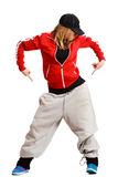 Girl is dancing Stock Images