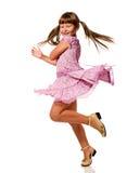 Girl dancing Royalty Free Stock Photos
