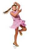 Girl dancing Royalty Free Stock Photography
