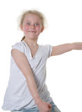 Girl dancing Royalty Free Stock Photo